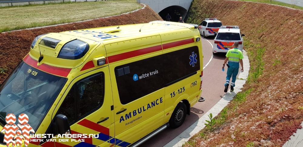 Twee licht gewonden dankzij modder in fietstunnel