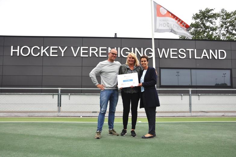 HV Westland haalt € 12.500 op voor ALS Westland