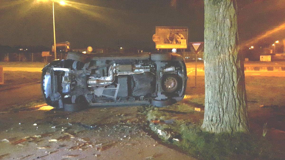 Drie incidenten zondagnacht in regio Westland