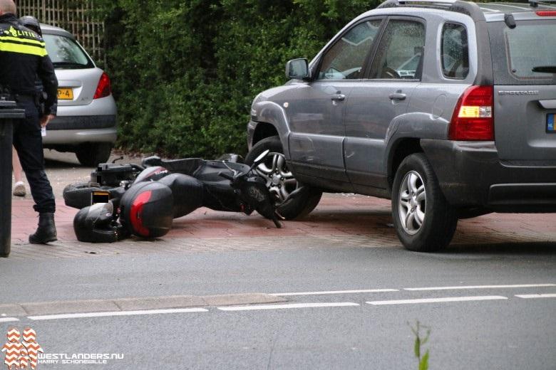 Scooterrijder gewond bij ongeluk Voorstraat