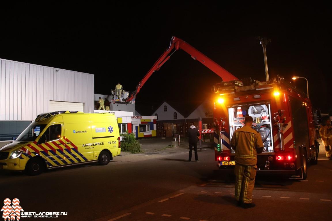 Nachtelijke inzet traumahelikopter in Poeldijk