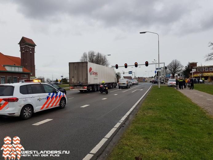 Aanhouding na ongeluk op de Nieuweweg