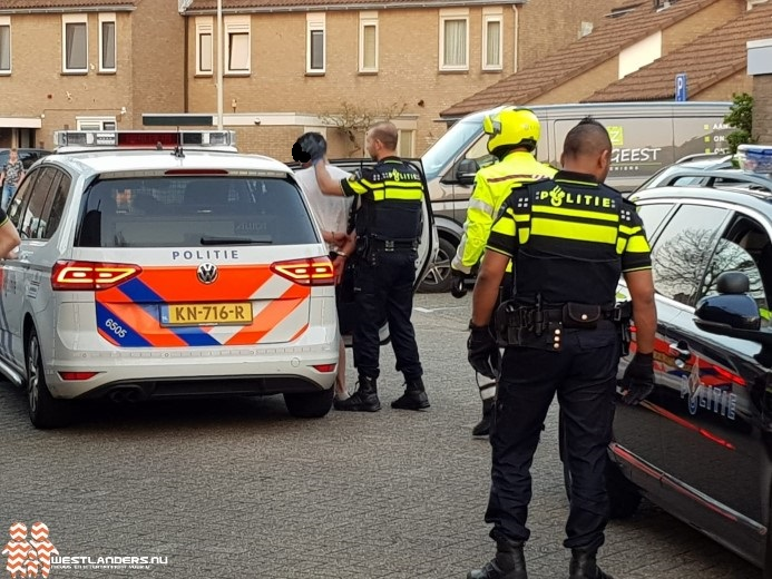 Agent licht gewond tijdens aanhouding in Poeldijk