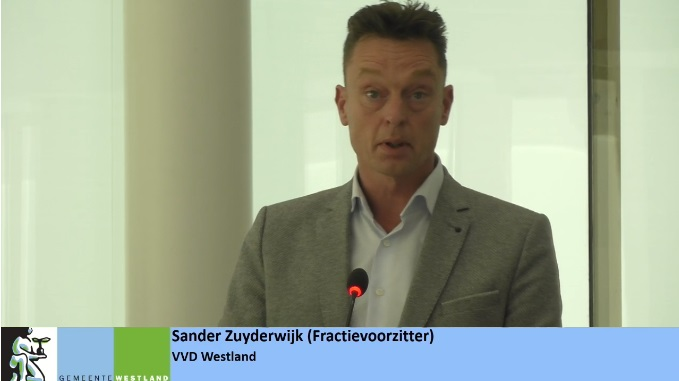 Spreektekst VVD Westland op 6 november 2018