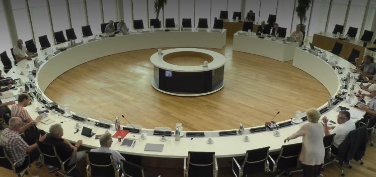 Vergadering commissie bestuur donderdagavond om 19:00 uur