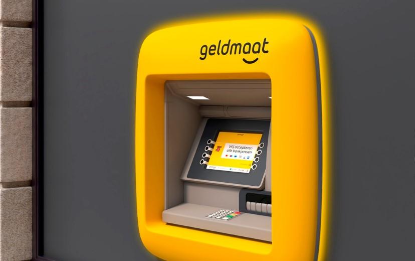 Pinautomaat wordt knalgele Geldmaat