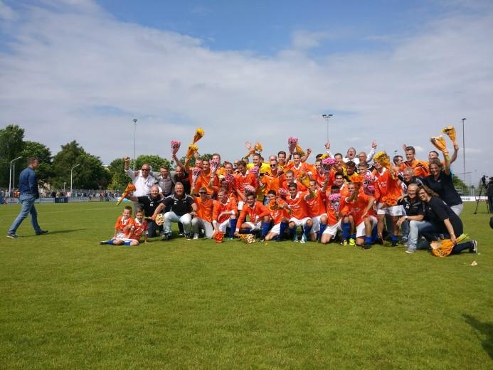 S.V. Honselerdijk gepromoveerd in nacompetitie