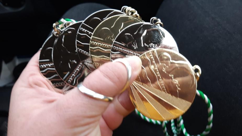 Tien medailles voor zwemmers van Westland Swimming Stars