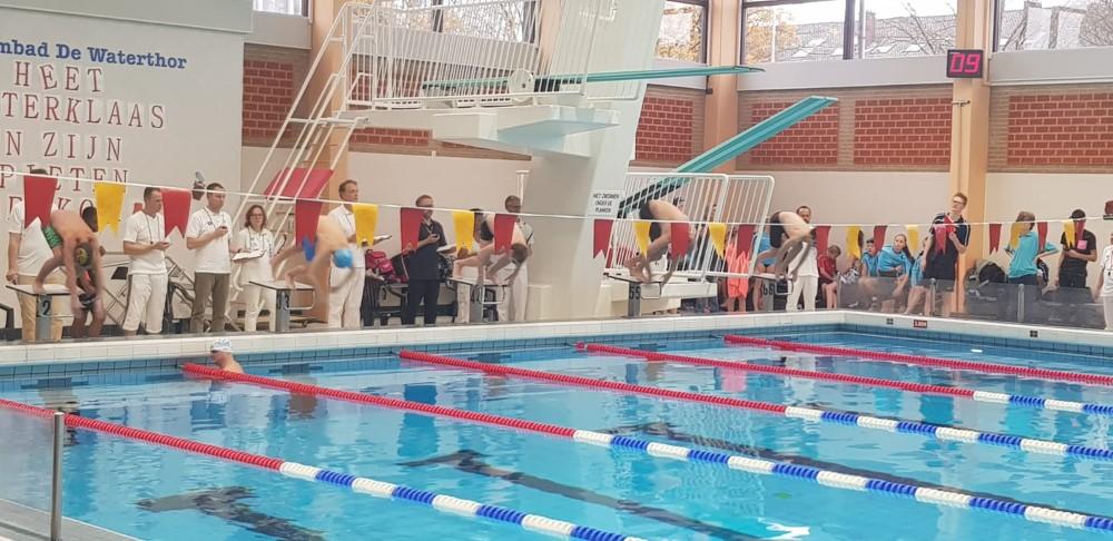 Negentien medailles voor Westland Swimming Stars