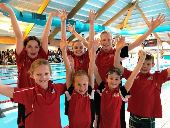 ZV Westland zwemster Rosanne den Drijver goud op 50m vlinderslag