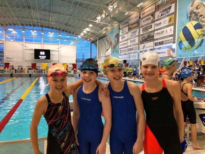 Westland Swimming Stars succesvol in Dordrecht