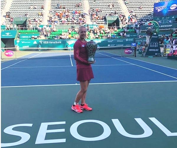 Kiki Bertens wint toernooi in Seoul