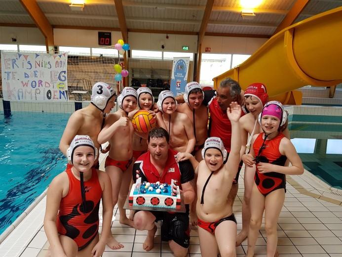 EG waterpoloteam van ZV Westland kampioen!
