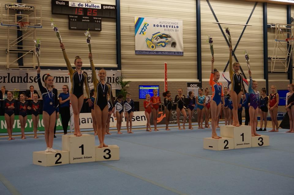 Twee keer goud en twee keer brons tijdens 1/4 finale NK