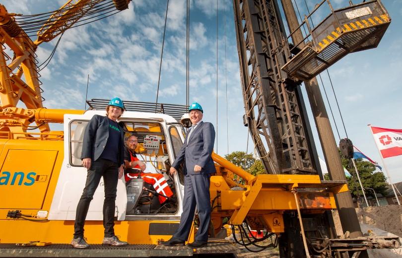 Startsein voor bouw 26 huurappartementen in Honselersdijk