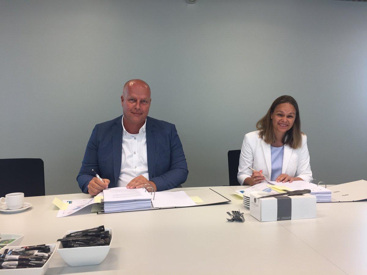 Overeenkomst met gemeente Midden-Delfland getekend