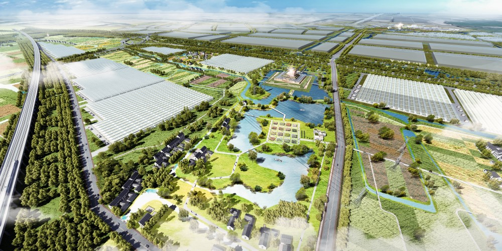 Startsein voor Chinees High-Tech Agriculture Park met Horti Center