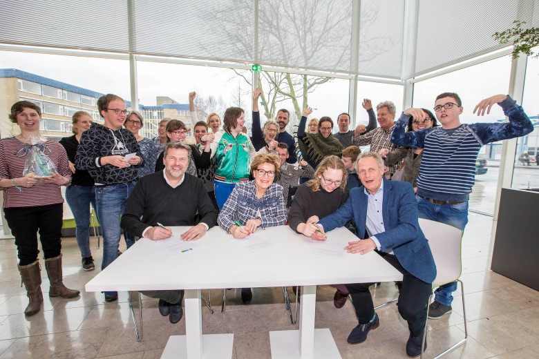 Intentieovereenkomst herontwikkeling locatie 'Zuyt Brugge' in Naaldwijk