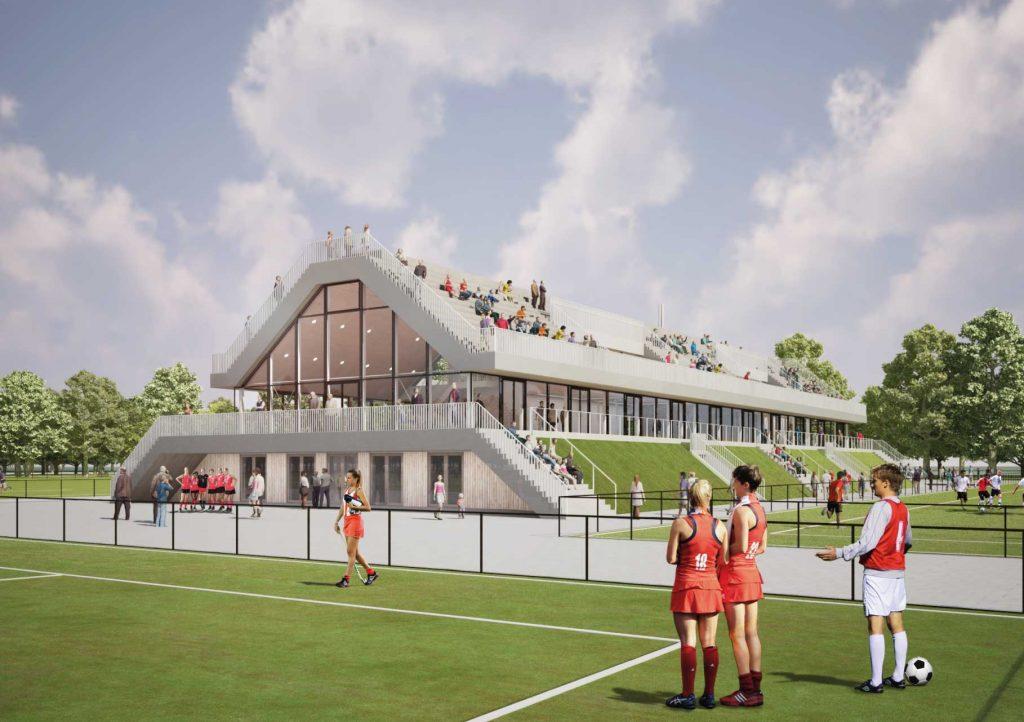 Sportcomplex Olympia gevestigd op Varkenoord