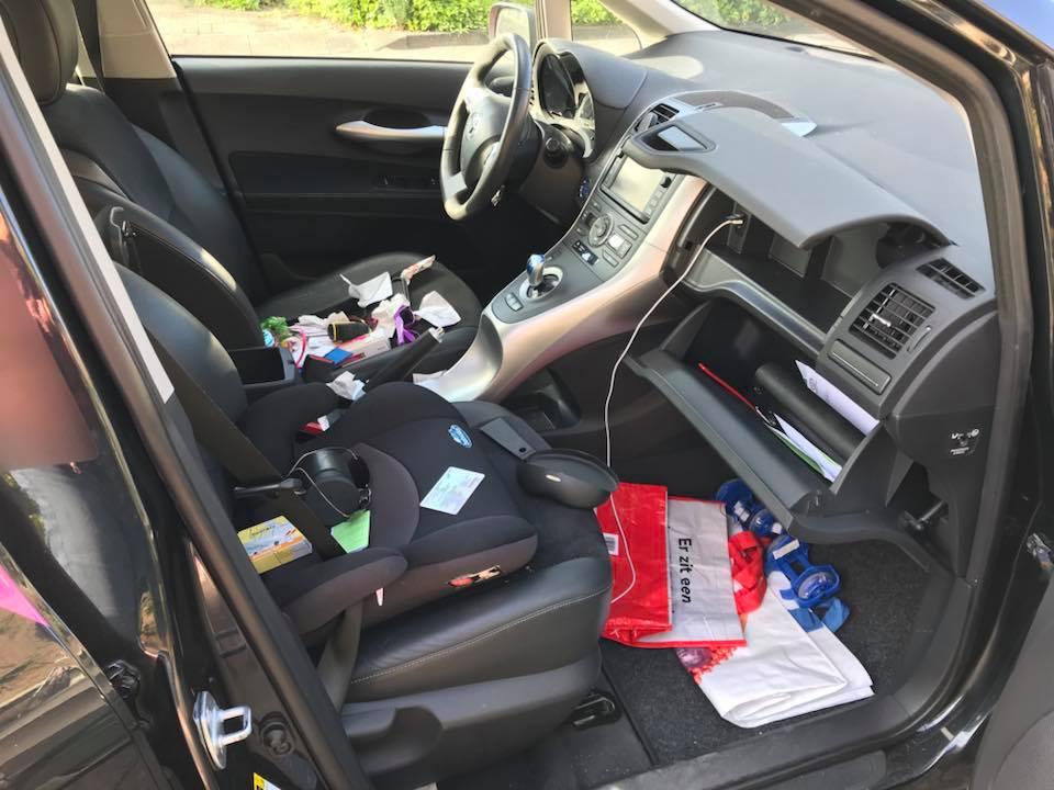 Meerdere auto 's openbroken in 's-Gravenzande