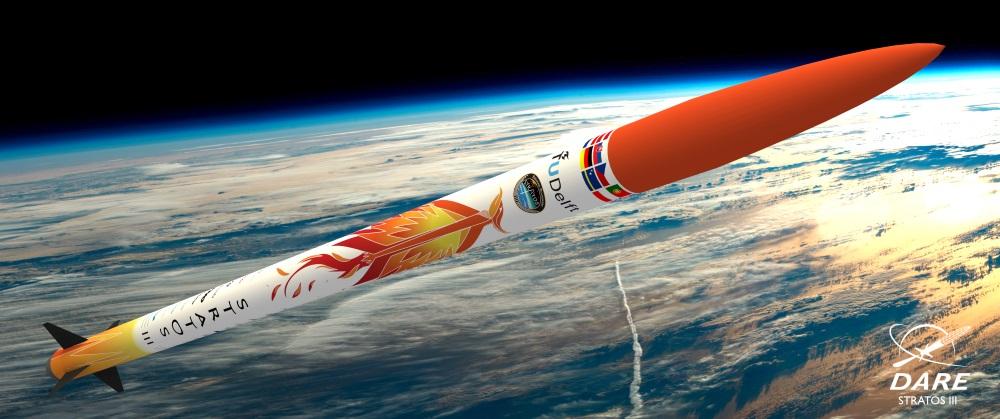 Studenten TU Delft lanceren raket in de ruimte