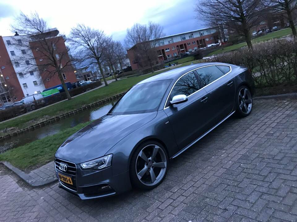 Weer een Audi A5 gestolen