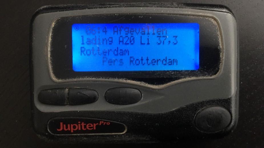 Eenheid Rotterdam start met automatische persalarmering
