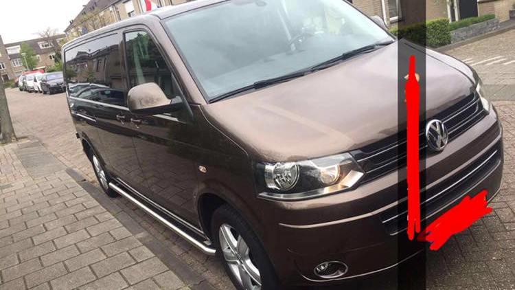 Weer Volkswagen Transporter gestolen