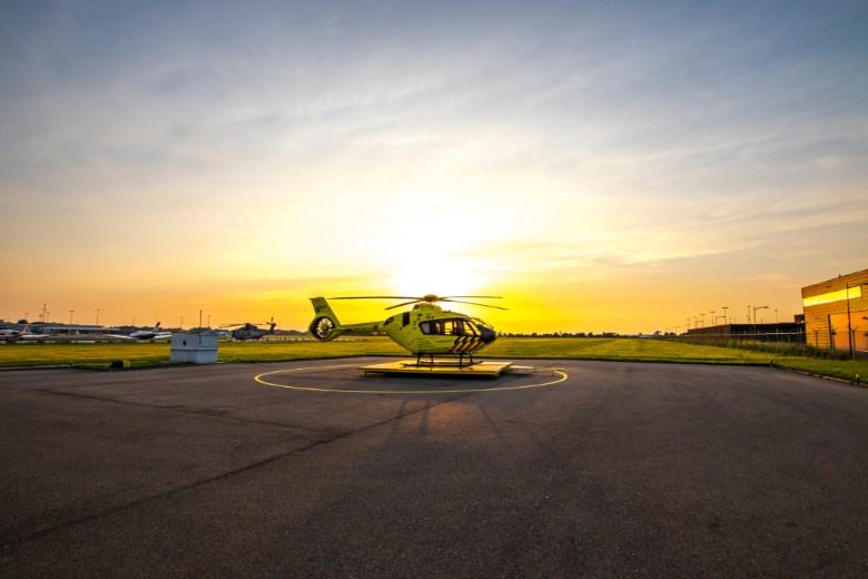 Op bezoek bij de nieuwe traumahelikopter