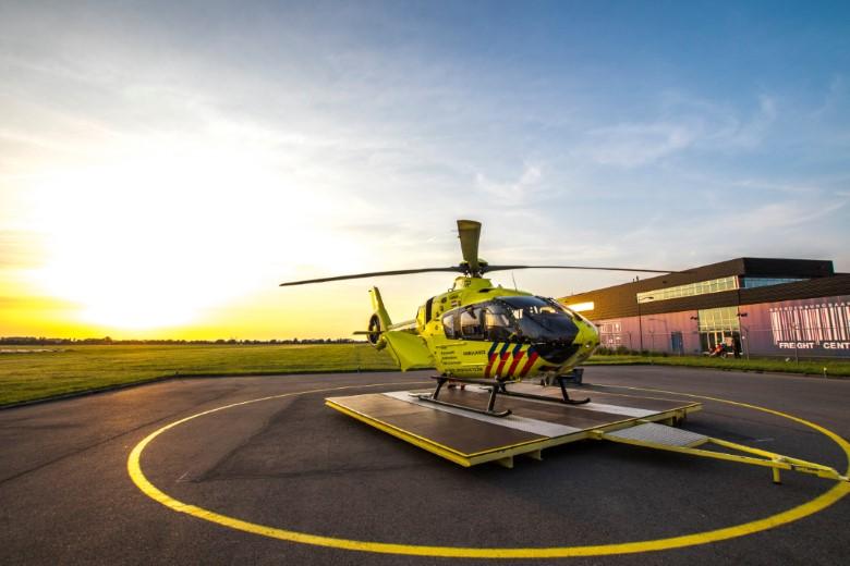 Standplaats politie- en traumahelikopter blijft in Rotterdam