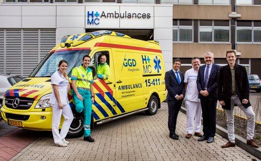 Samenwerking HMC en RAV Haaglanden voor sneller patiëntenvervoer