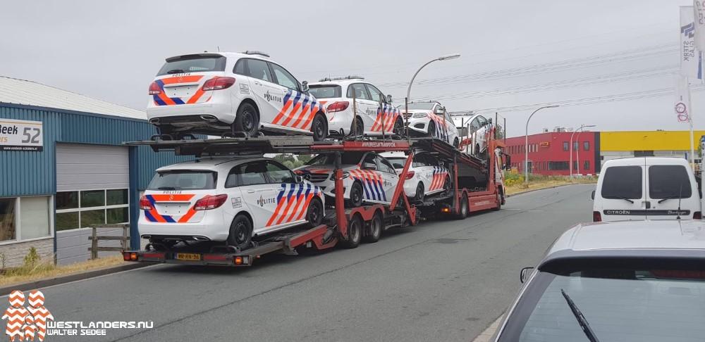Nieuwe politievoertuigen gespot in Den Hoorn