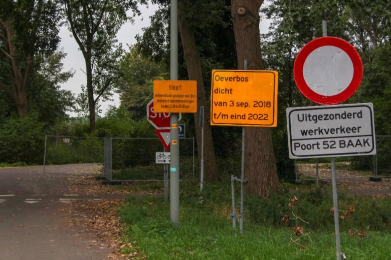 Afsluiting Broekpolderweg vanwege verleggen brandstofleiding