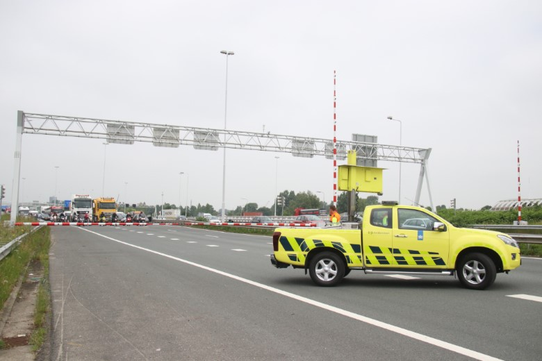 Losse kabel in Beneluxtunnel veroorzaakt schade