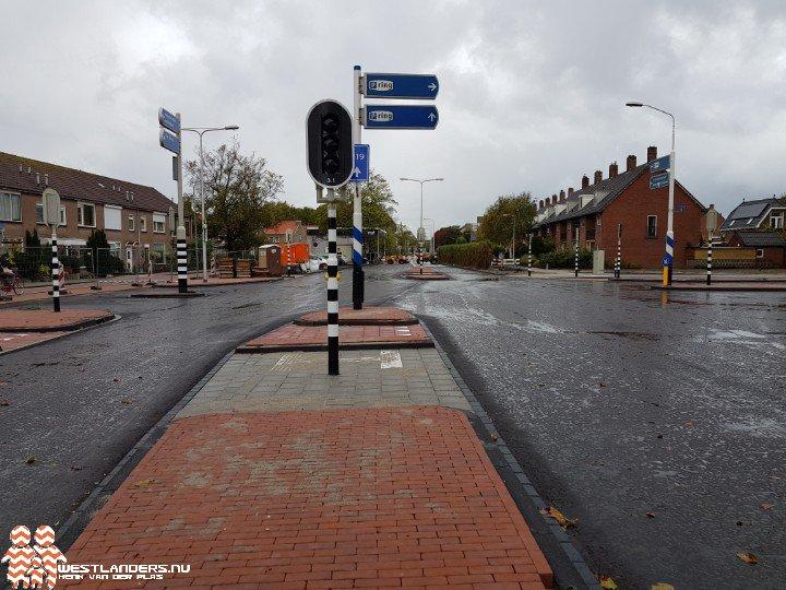 Reconstructie Kruisbroekweg - Middel Broekweg bijna voltooid