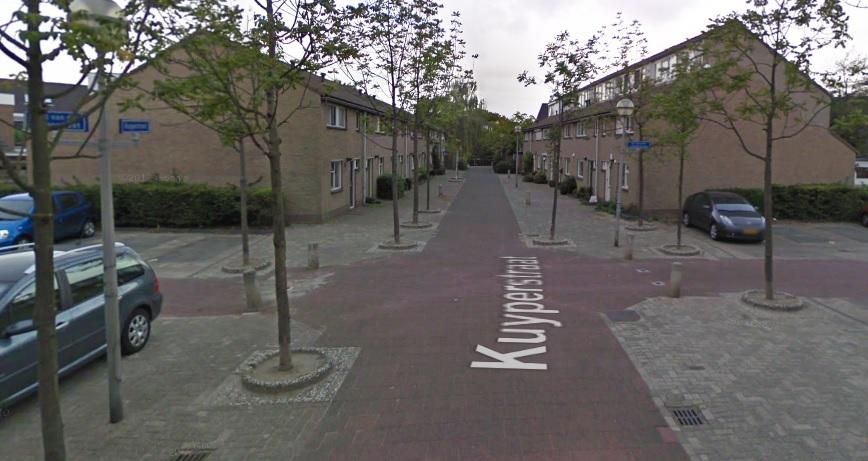 Collegevragen inzake parkeerproblemen Kuyperstraat