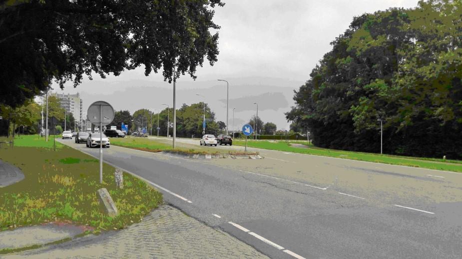 Collegevragen inzake reconstructie kruispunt Poeldijkseweg- Erasmusweg