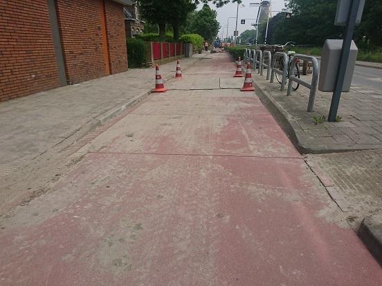 Rap op de fiets tussen Rijswijk en Naaldwijk