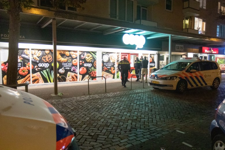 Overval op Poolse supermarkt in Vlaardingen