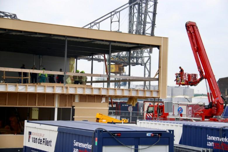 Bedrijfsongeval op bouwterrein KFC Vlaardingen