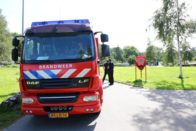 Vaten gedumpt in de Broekpolder