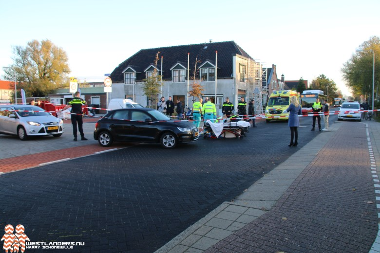 Fietser gewond na ongeluk Oosteinde