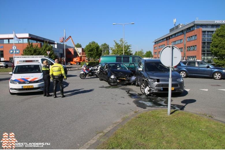 Gewonde bij ongeluk aan de Westlandseweg