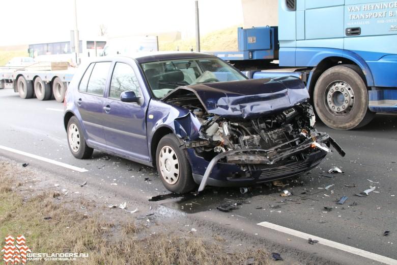 Meerdere voertuigen betrokken bij ongeluk Wippolderlaan