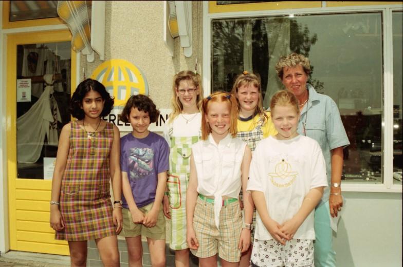 Wereldse kinderen in Wateringen
