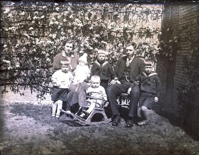 Het gezin van Bram van Marrewijk