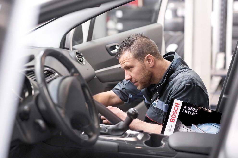 Zonder niezen achter het stuur met de FILTER+ van Bosch