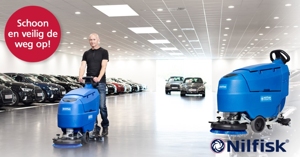 Nilfisk, de reinigingsspecialist in de Automotive