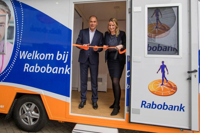 Rabobank Westland met mobiel kantoor nog dichterbij