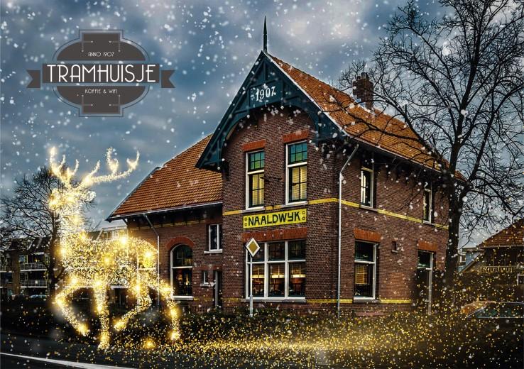 Kersteditie Vastgoedborrel in Tramhuisje op 14 december